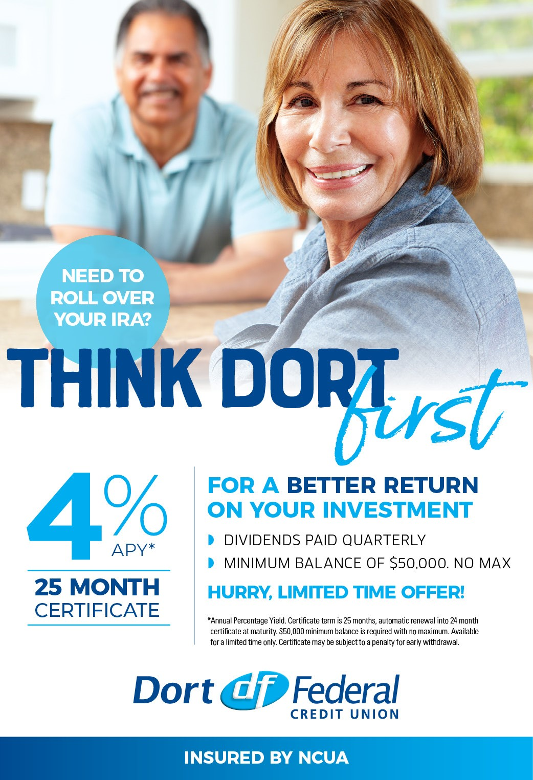 Need to Roll Over Your IRA - Think Dort First